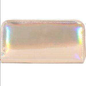 Handbags - Lowest Gold iridescent wallet
